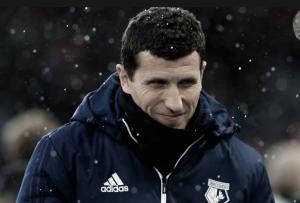 """Javi Gracia: """"Jugábamos contra uno de los mejores equipos del momento en Europa"""""""