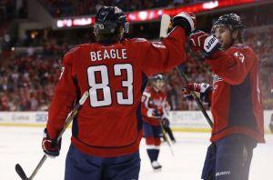 Washington Capitals Re-sign Jay Beagle