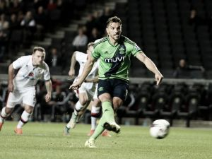 Gran goleada del Southampton ante el MK Dons