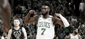 Momentazo NBA: Jaylen Brown hace historia con los Celtics