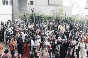 """Dois meses antes da estreia de """"Rogue One"""", fãs de Star Wars se reúnem em SP para a 16ª Jedicon"""