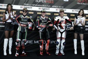 SBK, Jerez: pole da record per Sykes, Canepa in prima fila