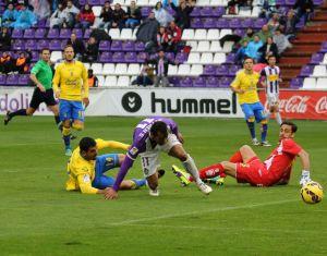 El Real Valladolid pierde galones en Zorrilla