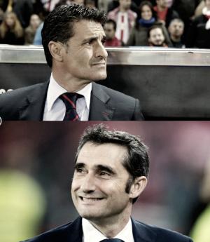 El duelo en los banquillos: Valverde vs Michel