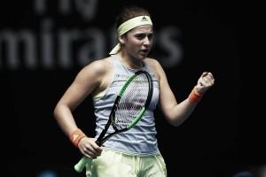 Australian Open: Jelena Ostapenko ousts Francesca Schiavone in straight sets