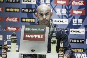 """Paco Jémez: """"No voy a permitir que el mismo jugador cometa un error similar"""""""