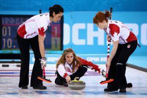 Curling (F) : Les Canadiennes championnes olympiques face à la Suède