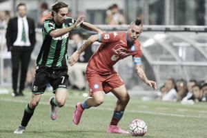 Un buen Sassuolo derrota al Nápoles