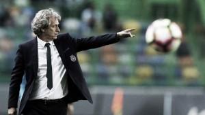 """Jorge Jesús: """"Reacción insuficiente de mi equipo, el Tondela hizo su deber"""""""