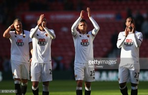 Mazzarriencourages Holebas and Capoue to argue