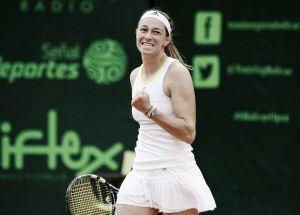 Mariana Duque a segunda ronda del Abierto de Madrid
