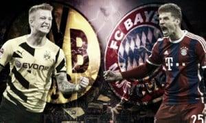Resumen Borussia Dortmund 4 - 1 Bayern de Múnich en vivo online en Bundesliga 2016