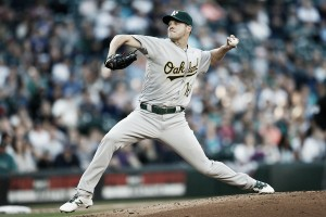 Rich Hill dominates through seven innings, Oakland Athletics win 5-1 over Detroit Tigers