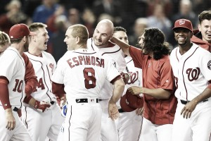 Washington Nationals top Detroit Tigers on walk-off home run by Clint Robinson