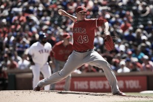 Los Angeles Angels right-handed pitcher Garrett Richards needs Tommy John surgery