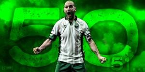 """Entrevista. 'Jito' Silvestre: """"No sólo mis goles, sino más de un tercio de mi corazón es verdinegro"""""""
