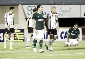 Léo Gamalho marca duas vezes, Goiás vence, se afasta da zona e afunda Bragantino