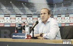 """Víctor Muñoz: """"El equipo ha jugado junto, cohesionado y con una idea común"""""""
