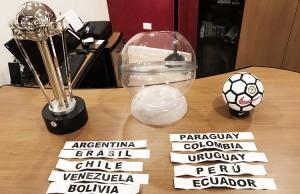 Definidos los grupos de la Copa América 2017