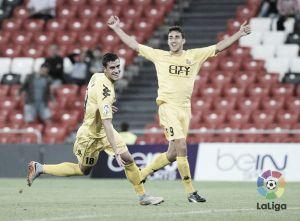 El Girona vence por la mínima en San Mamés