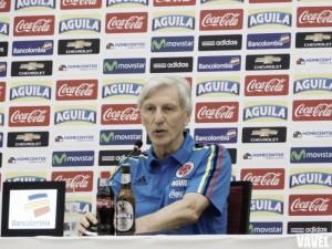 """José Pékerman: """"Vamos a ser bendecidos o castigados por un resultado, los jugadores lo saben"""""""