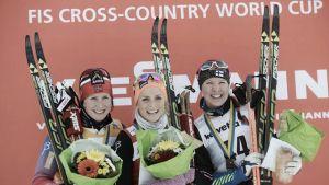 Sci di Fondo: a Davos è ancora Norvegia con Sundby e Johaug