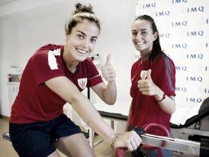 Joana Flaviano y Ainhoa Vicente ya son del Athletic
