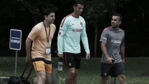 Joaquín Juan vuelve la concentración de Portugal