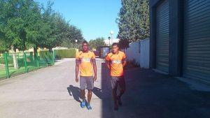Jhon Córdoba ya entrena con el Granada CF