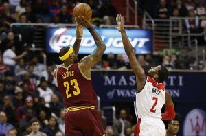 Cleveland domina a Washington ed è sorpasso in classifica