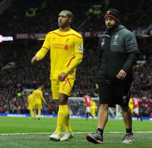 Glen Johnson out for a month