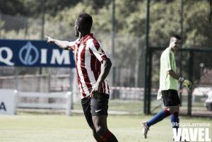 Jon Ander Felipe debuta con el Bilbao Athletic esta temporada