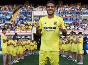 Jonathan dos Santos ya luce de 'groguet'