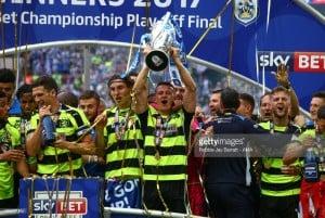 Huddersfield Town midfielder Jonathan Hogg suffers twisted ankle