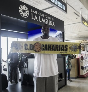 Joseph Jones ya está en Tenerife