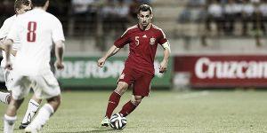 Jonny disputa los 90 minutos en la victoria de la sub 21 sobre Estonia