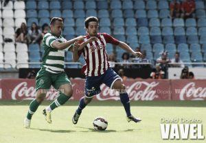 Ponferradina - Real Sporting: duelo de titanes en la grada y césped