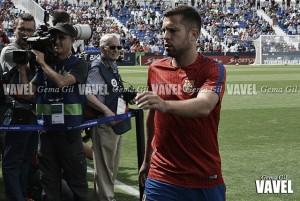 """Jordi Alba: """"Es un orgullo jugar con la camiseta del Barça"""""""