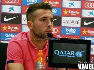Jordi Alba acusa a Mateu Lahoz