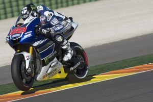 Il Warm Up di Valencia dice Lorenzo