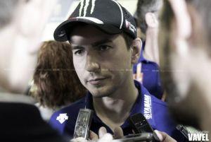 "Jorge Lorenzo: ""Lo único positivo de toda la carrera ha sido la salida"""