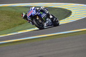 Le Mans, Lorenzo al comando nelle terze libere