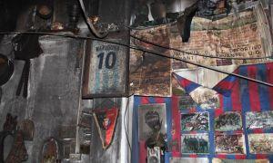 Un incendio en El Raconet de Raimon destruye cientos de recuerdos del club