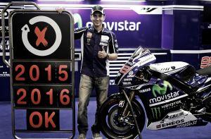 Jorge Lorenzo y Yamaha, unidos hasta 2016