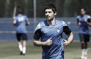 """Víctor Pérez: """"Quiero crecer como jugador y ayudar al club, porque han apostado por mí"""""""