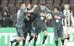 Napoli di rigore, Udinese a testa alta: decisivo Andujar