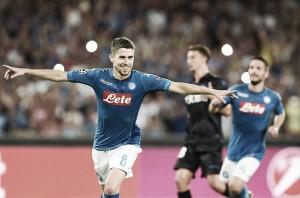 Com gol do ítalo-brasileiro Jorginho, Napoli vence Nice pelos playoffs da Champions