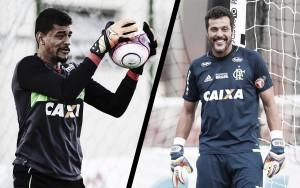 Duelo de gerações: goleiros de Flamengo e América para sábado vivem etapas distintas