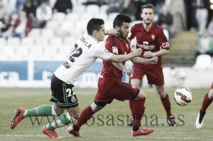 Racing - Osasuna: puntuaciones Osasuna, jornada 28 Liga Adelante