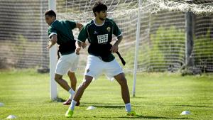 """José Ángel: """"Estoy convencido de que ganaremos y pasaremos la eliminatoria"""""""